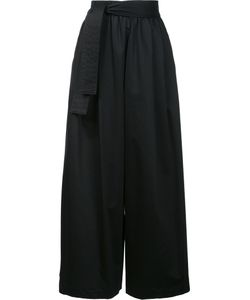 Tome | Wide-Legged Cropped Trousers Womens Size 2 Cotton