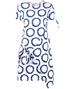 J.W.Anderson | Printed Tie Knot Dress Womens Size Xs Cotton