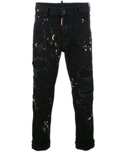 DSquared² | Glam Head Jeans Mens Size 44 Cotton/Spandex/Elastane/Polyester