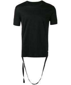 Les Hommes | Strap Detail T-Shirt Mens Size Large Cotton