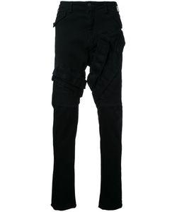 Julius | Stitched Panel Jeans Mens Size 3 Cotton/Polyester/Polyurethane