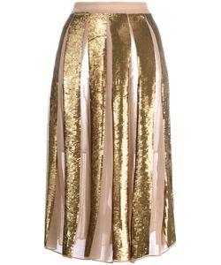 Manoush | En Pailettes Skirt Womens Size 38 Silk/Viscose