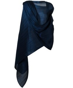 Pleats Please By Issey Miyake | Pleated Scarf Womens Silk