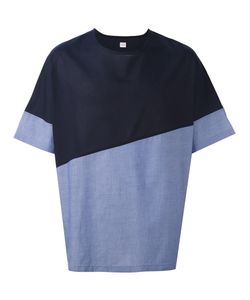E. Tautz | Colour Block Wide Fit Collection T-Shirt Mens Size Small