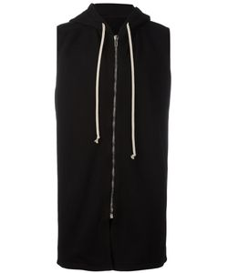 Rick Owens DRKSHDW | Hooded Waistcoat Mens Size Small Cotton