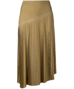 Nehera   Pleated Skirt Womens Size 36 Polyester/Cupro