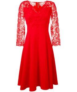 Ermanno Scervino | Lace Fla Dress Womens Size 42 Polyester/Spandex/Elastane