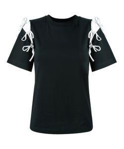 Facetasm | Cut-Out String T-Shirt Size 2 Cotton