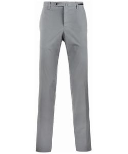 Pt01 | Straight-Cut Chino Trousers Mens Size 56 Cotton/Spandex/Elastane