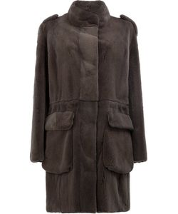 32 Paradis Sprung Frères | Oxygene Coat Womens Size Medium Mink