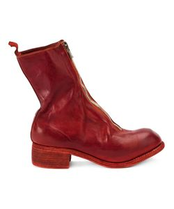 Guidi | Front Zip Boots Womens Size 39 Horse Leather/Leather