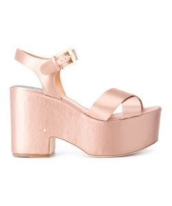 Laurence Dacade   Helissa Sandals Womens Size 37.5 Satin