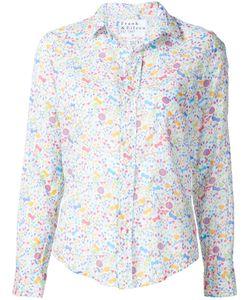 Frank & Eileen   Floral Print Shirt