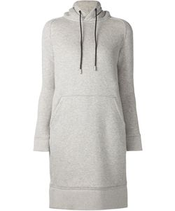 The Reracs | Drawstring Hooded Jersey Dress