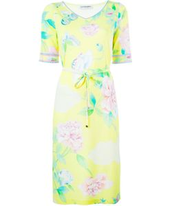 Leonard | Shortsleeved Floral Print Dress
