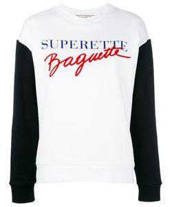 Être Cécile | Supertte Baguette Sweatshirt Womens Size Medium Cotton