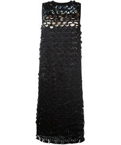 Paskal | Laser Cut-Out Midi Dress