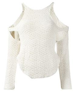 Eckhaus Latta | Cut Out Knit Sweater