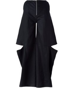 Eckhaus Latta | Wide Leg Cut Out Pants