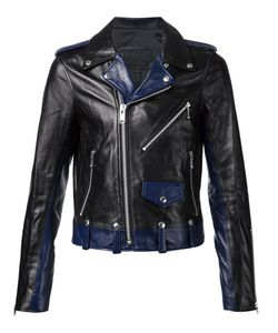 99 Is | 99 Is Panelled Biker Jacket