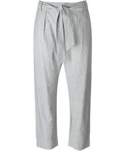 Valentine Gauthier   Constant Striped Tie Waist Straight Leg Trousers