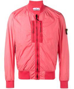Stone Island   Bomber Jacket Mens Size Xxl Polyamide/Polyurethane Resin/Cotton