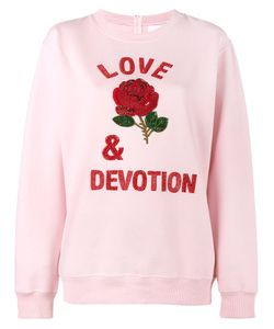 Ashish | Love Devotion Sweatshirt Womens Size Medium Cotton/Polyester
