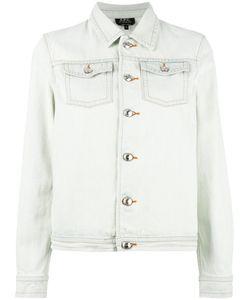 A.P.C. | Denim Jacket Womens Size Large Cotton