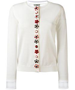 Fendi | Placket Cardigan Womens Size 46 Silk/Cashmere