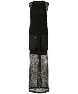 Vera Wang | Sleeveless Gown Womens Size 2 Cotton/Silk/Nylon