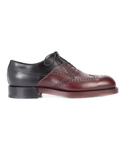 Pierre Hardy | Twin Perfo Brogues Mens Size 43 Calf Leather/Leather