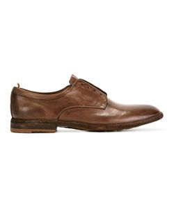 Officine Creative   Classic Almond-Toe Oxfords Mens Size 43 Leather