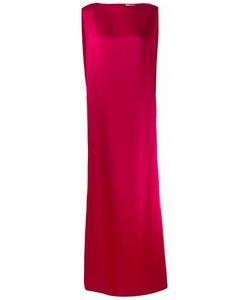 Chalayan | Signature Long Column Dress Womens Size 44 Viscose/Acrylic