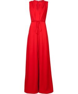Adam Lippes | Wide-Leg Jumpsuit Womens Size 0 Silk/Viscose