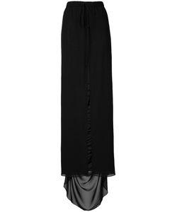 Vera Wang | Cutaway Skirt Womens Size 6 Silk