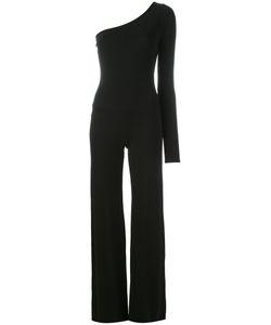Plein Sud | One Shoulder Jumpsuit Womens Size 38 Spandex/Elastane/Viscose
