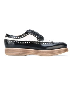 Church's | Platform Brogues Womens Size 38 Calf Leather/Leather/Rubber