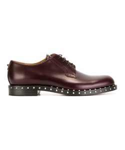 Valentino | Rockstud Derby Shoes Mens Size 40 Leather/Metal Other