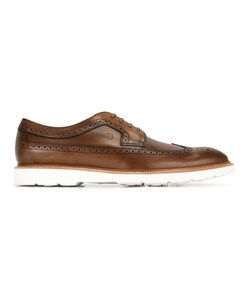 Tod's | Ridged Sole Brogues Mens Size 42 Calf Leather/Leather/Rubber