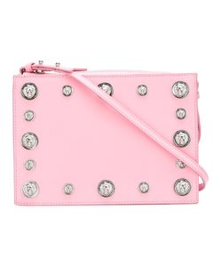 Versus | Studded Cross Body Bag Womens Metal Other/Calf Leather/Cotton