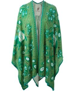 Friendly Hunting | Printed Knitted Cape
