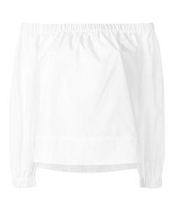 YMC | Off-Shoulder Blouse Womens Size Medium Cotton