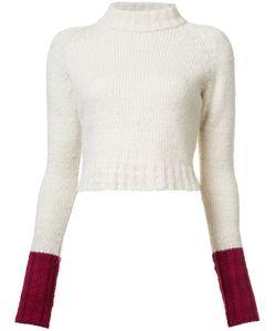 The Elder Statesman | Cropped Jumper Womens Size Medium Cashmere