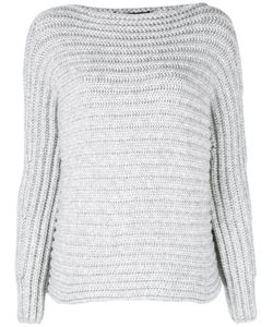 Calvin Klein Collection   Striped Jumper Womens Size Small Polyamide/Cashmere