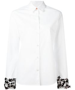 PS Paul Smith | Ps By Paul Smith Embellished Cuff Shirt Womens Size 40