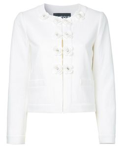 Boutique Moschino | Buttons Jacket Womens Size 42 Cotton/Other Fibres