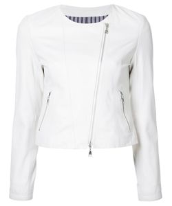 Loveless | Zip Up Jacket Womens Size 36 Lamb Skin