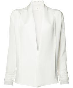 Peter Cohen | V-Neck Blouse Womens Size Medium Nylon/Silk
