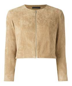 The Row   Santa Jacket Womens Size 2 Lamb Skin/Cotton/Spandex/Elastane/Silk