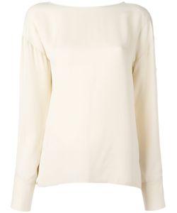 Theory | Plain Top Womens Size Medium Silk
